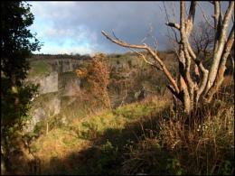 Above Cheddar Gorge