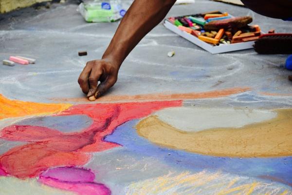 Chalk Art by bgrunes