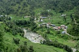 Village Tikkan [Barot valley] India