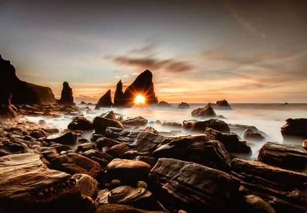 Jurassic Sunset by eoinmc67