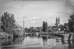 The River Severn At Worcester