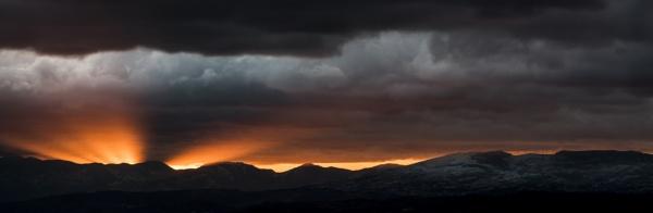 Sunset in drama by fabriziogaluppo