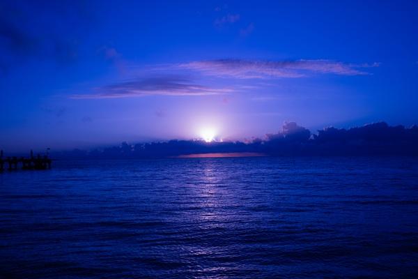 Caribbean sunrise by MarkTs