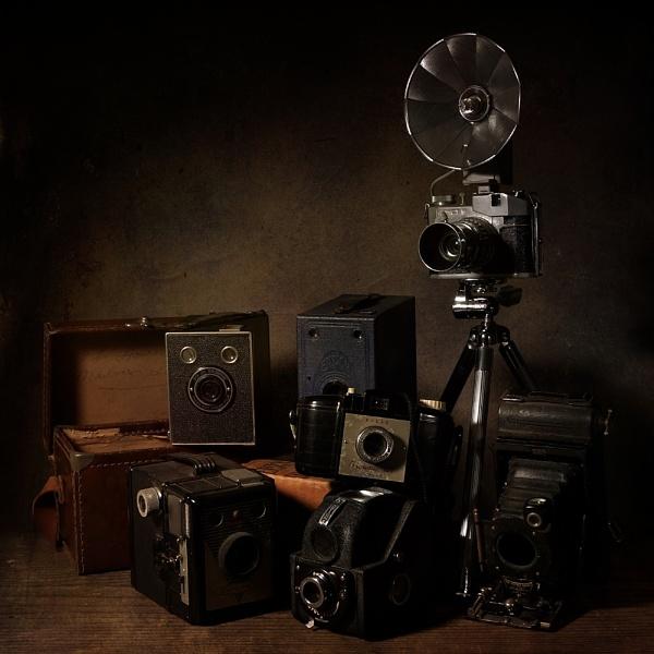 Cameras by cattyal