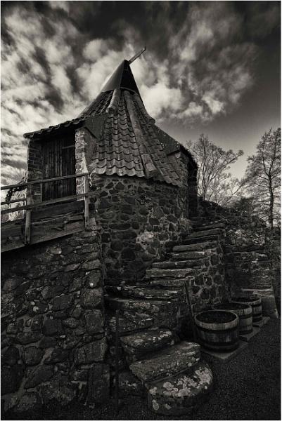 Preston Mill in January by KingBee