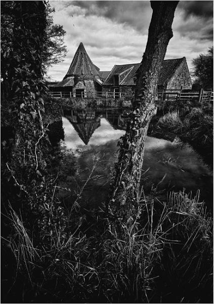 Preston Mill in January #3 by KingBee