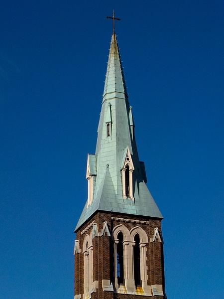 SAINT JOSEPH  ROMAN CATHOLIC CHURCH IN HAMILTON by TimothyDMorton