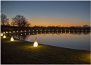 Wisley Garden Night Lights by Lillian