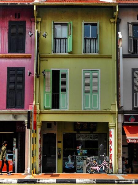 Singapore shophouse by StevenBest