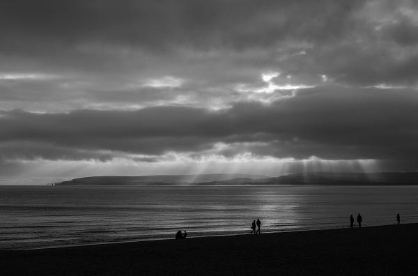 Shadows On The Beach #1 by MartinWait