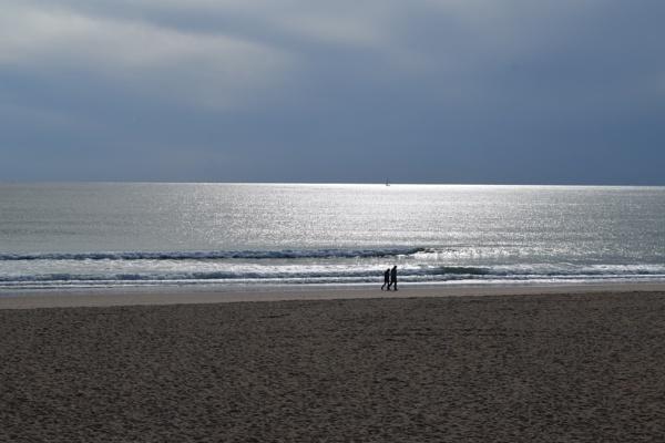 Beach Stroll by voyger1010