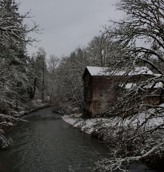 Old Mill. by Houba