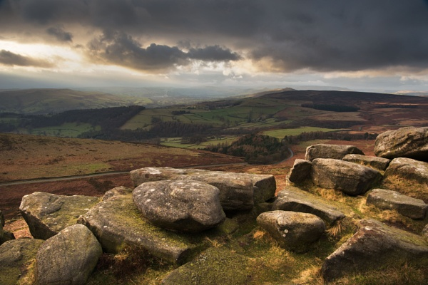 Stanage Edge by Trevhas