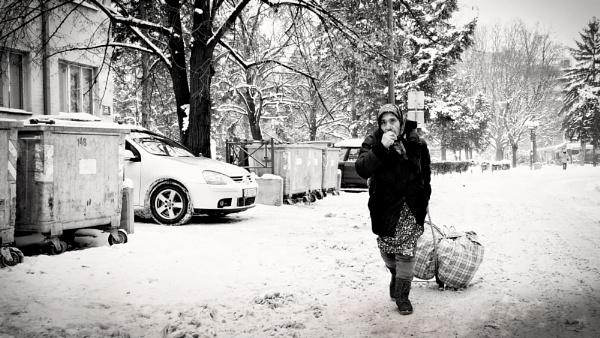 Winter in the city V by MileJanjic