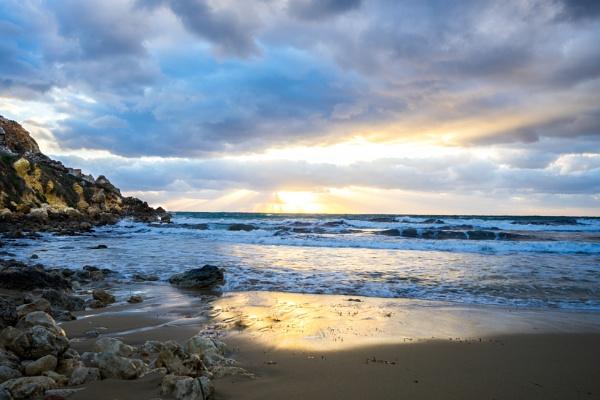 The blue sunset by Sillu