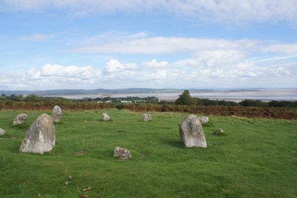Stone circle at Birkrigg. by Gerryatric