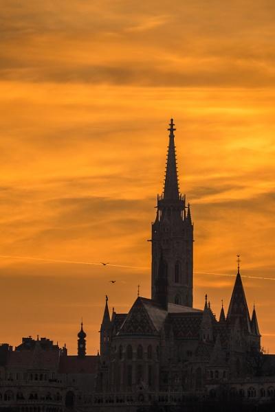 Budapest Skyline by Legend147