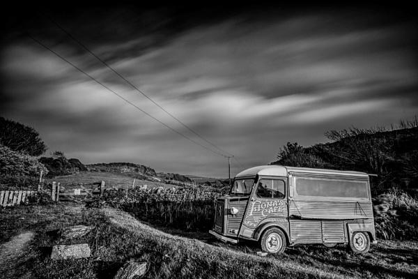 Port Quin coffee van by curlyfilm