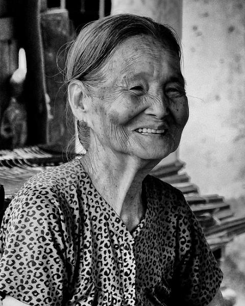 Dignified Lady - Mekong Delta by Backabit
