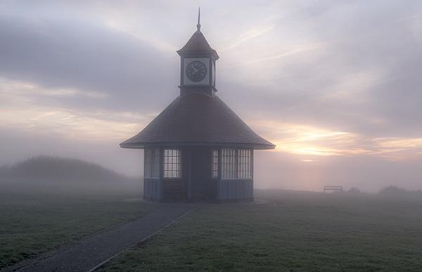 A Misty Sunrise by MartinLeech
