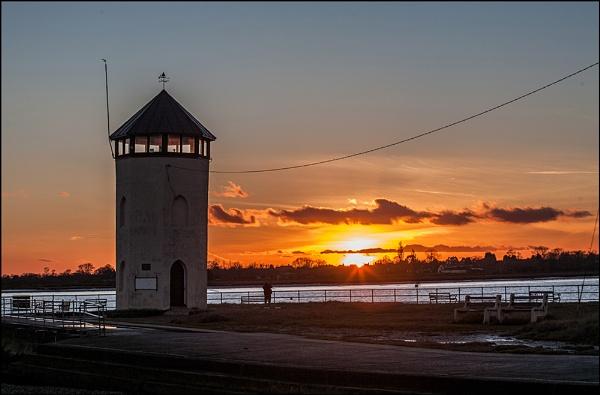 Sunset by MartinLeech