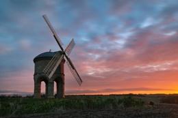 Chesterton Windmill at Sunrise