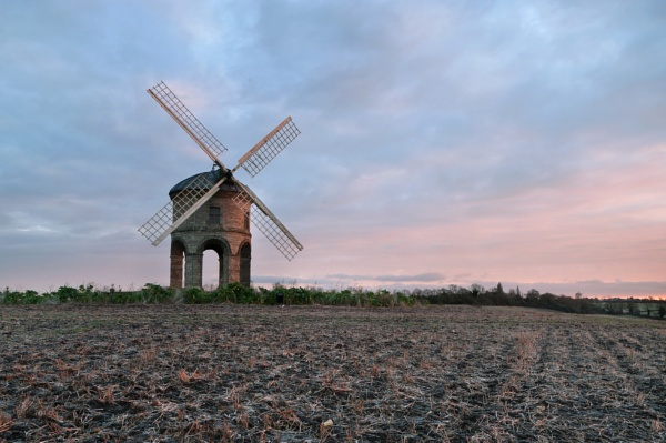 Chesterton Windmill at Sunrise by tom_earwaker