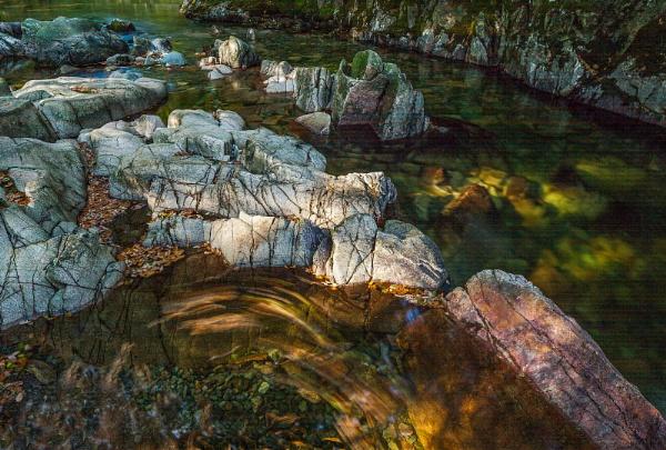 Rocks at Trough House Bridge by Bigpoolman