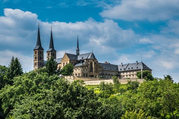 Bamberg monastery. by seahawk