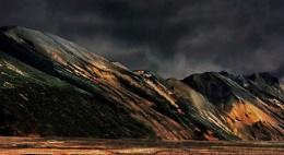Hills at Lanmanalaugar, Iceland