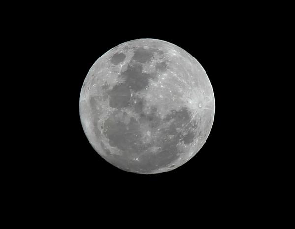 Full moon over Dar es Salaam by babajoshua