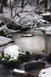 January Snow in Karlstal Gorge