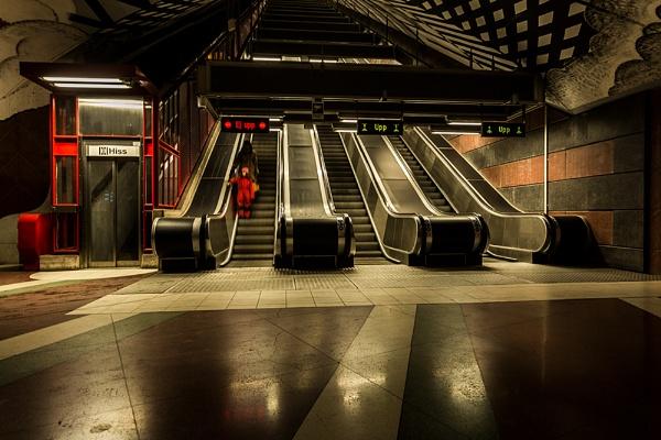 Stockholm Underground by rontear