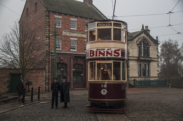 Beamish Tram by SkySkape