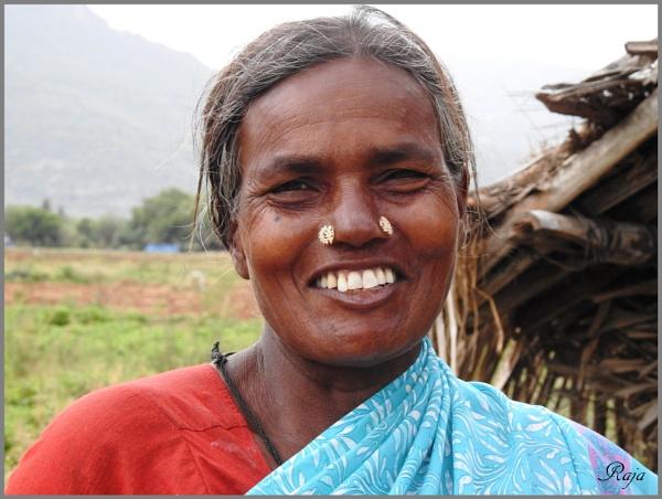 Rural Woman by RajaSidambaram