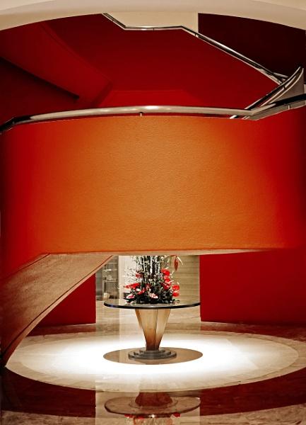 Orange stairs 3 by StevenBest