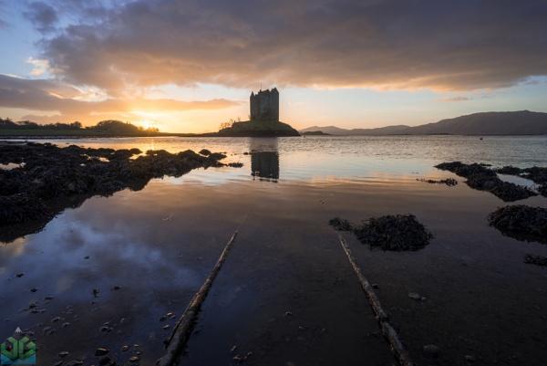Castle Stalker Sunset by jamesgrant