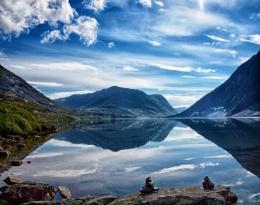 Lake Djupvatnet, Norway