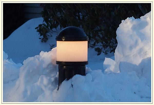 ***  Glow in the snow *** by Spkr51
