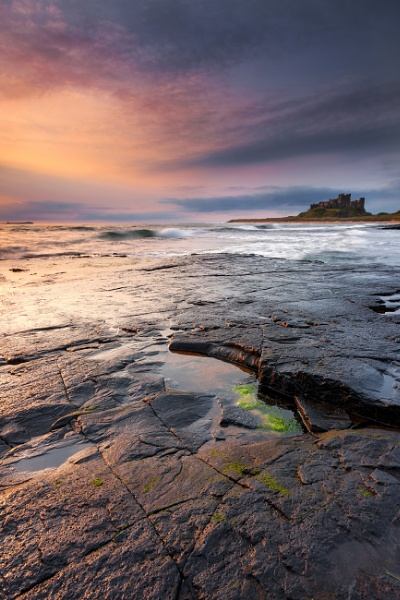 Shine On Bamburgh by chris-p