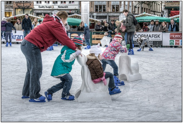 Skating on thin ice by TrevBatWCC