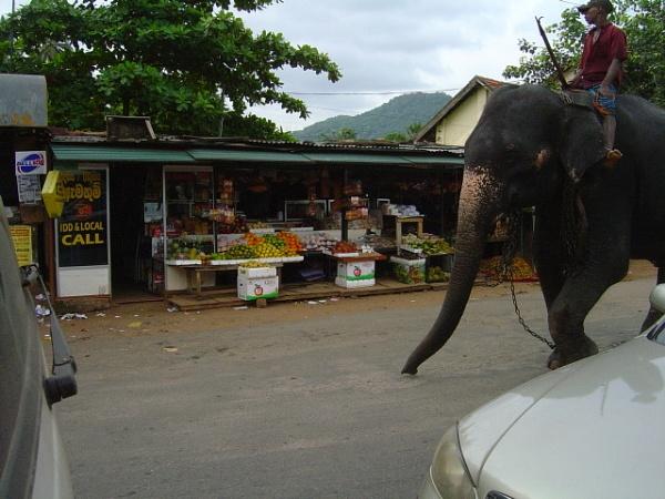 Sri Lanka traffic jam. by SkySkape