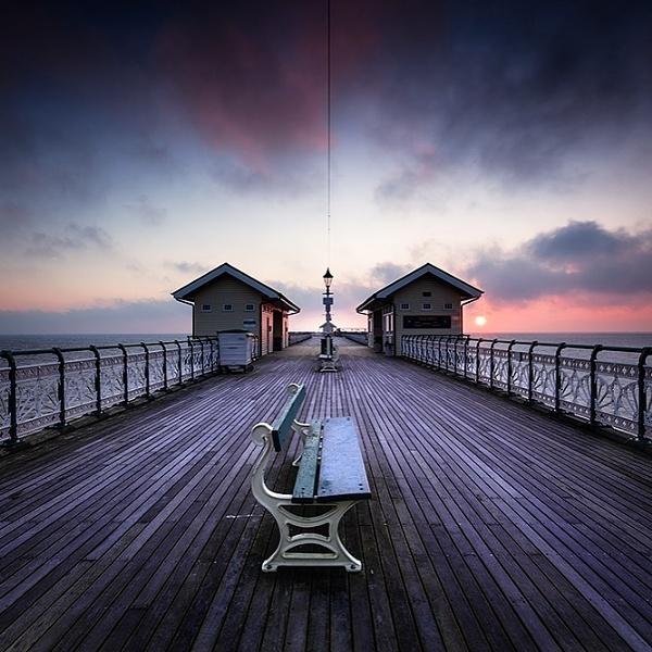 Penarth Pier Dawn by Tynnwrlluniau