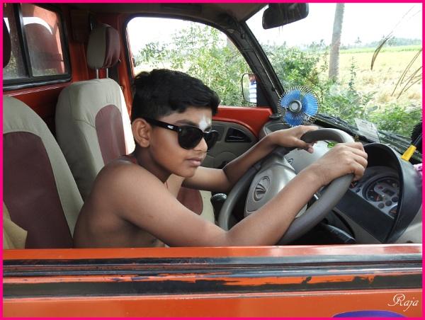 Dreaming to Drive by RajaSidambaram