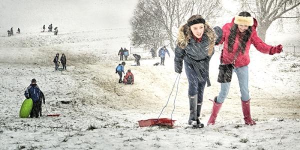 Fun in the Snow by judidicks