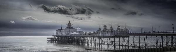 Cloud over Eastbourne Pier by judidicks