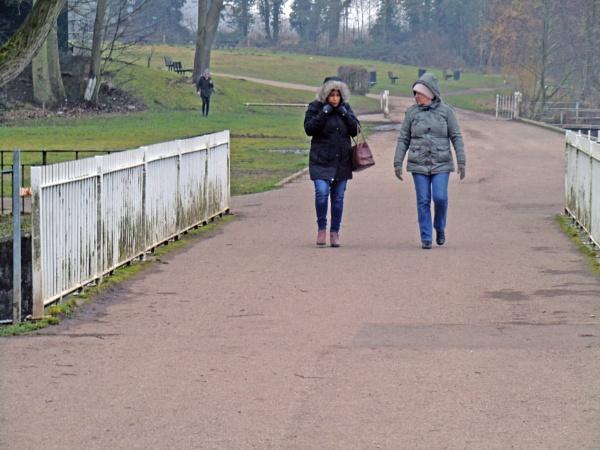 A Cold Morning Walk by Gypsyman