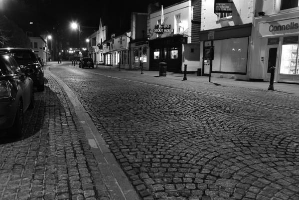 Empty street by djh698