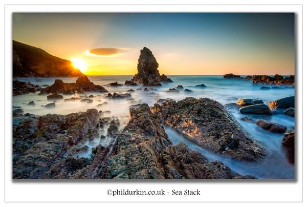 Sea Stack by Philpot