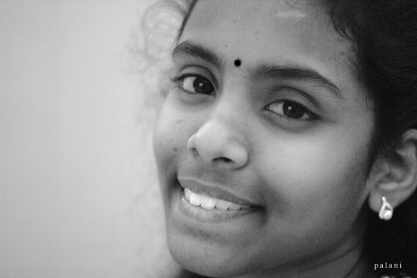 Black and white by palaniappan